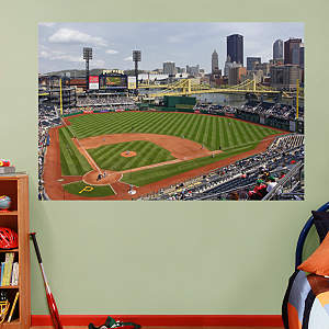 Inside PNC Park Mural Fathead Wall Decal